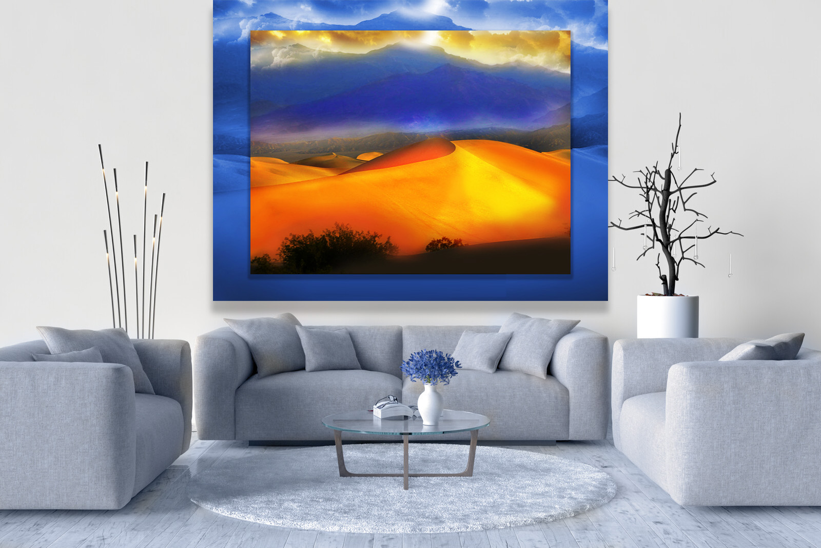 Orange Sand Dunes